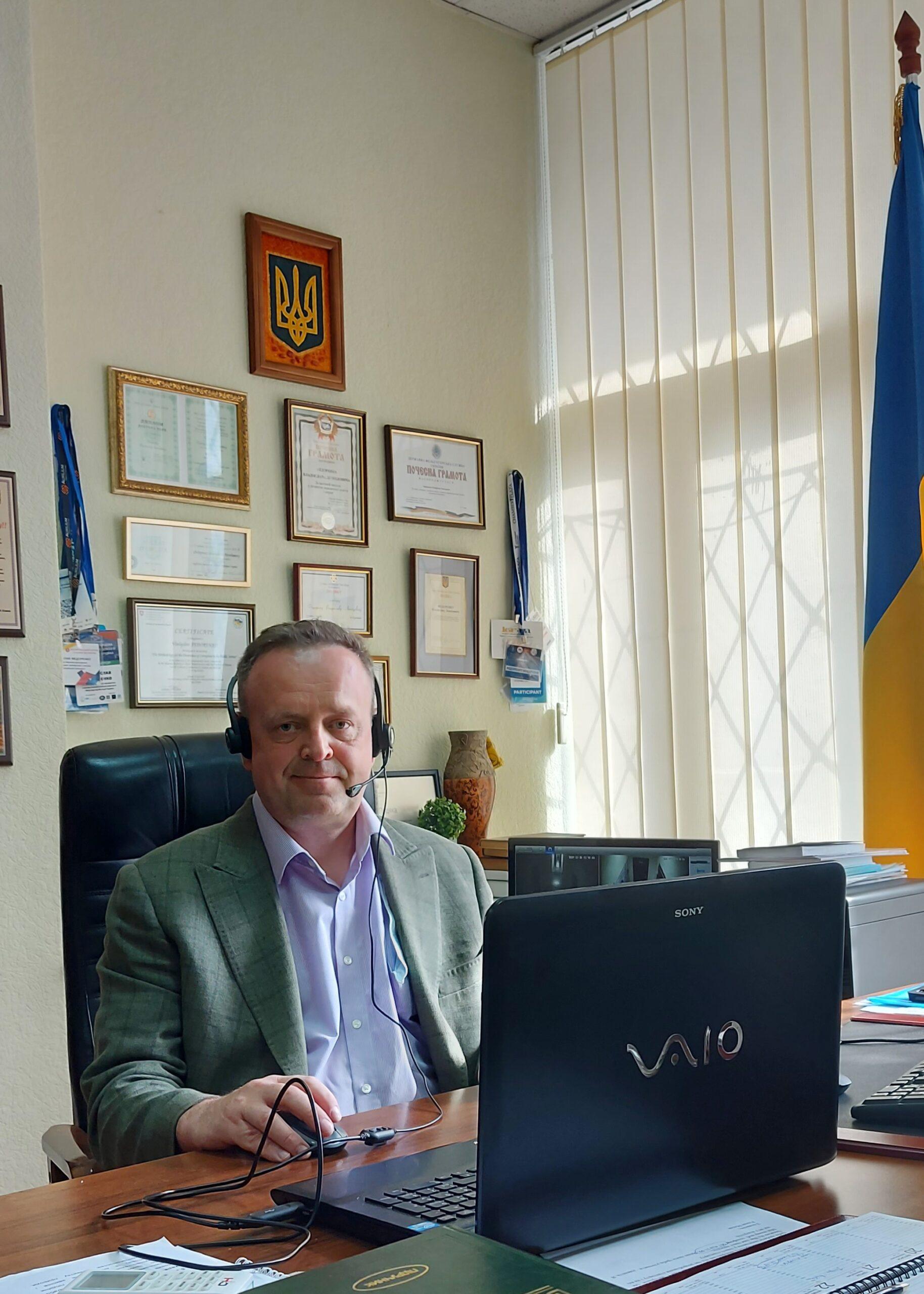 Директор НДЦСЕ з питань інтелектуальної власності взяв участь у зустріч експертів Національного агентства із забезпечення якості вищої освіти